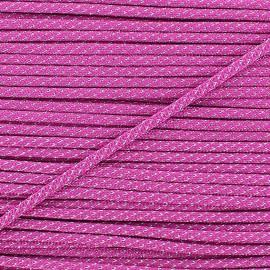 Lurex Cord 3mm - fuchsia
