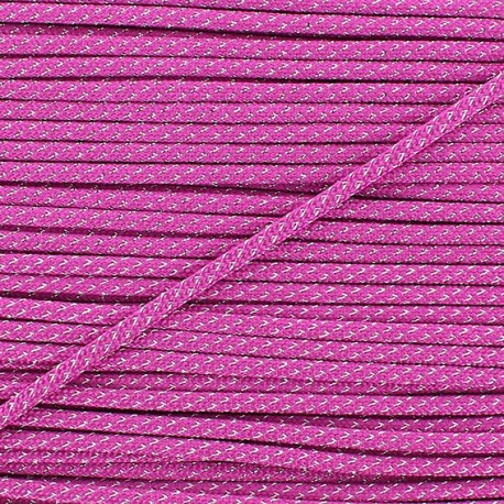 Lurex Cord 3mm - fushia