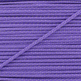 Cordon lurex 3mm violet