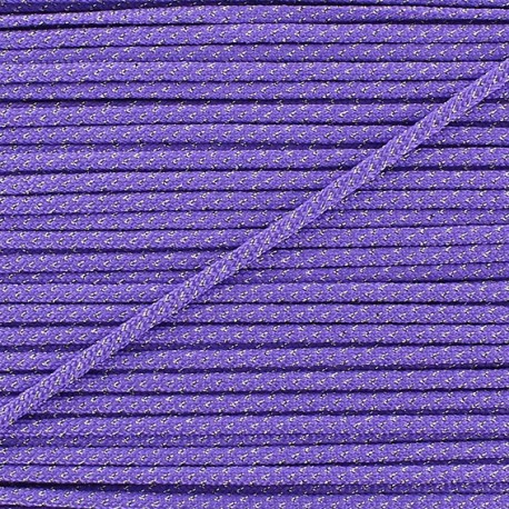 Lurex Cord 3mm - purple