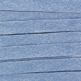 Ruban Galon Lin 10 mm bleu clair