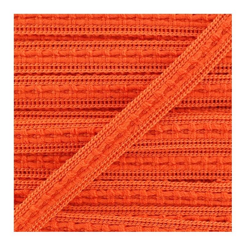ruban galon passementerie 10 mm orange ma petite mercerie. Black Bedroom Furniture Sets. Home Design Ideas