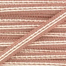 Lace-making Braid trimming Ribbon 10 mm - pink