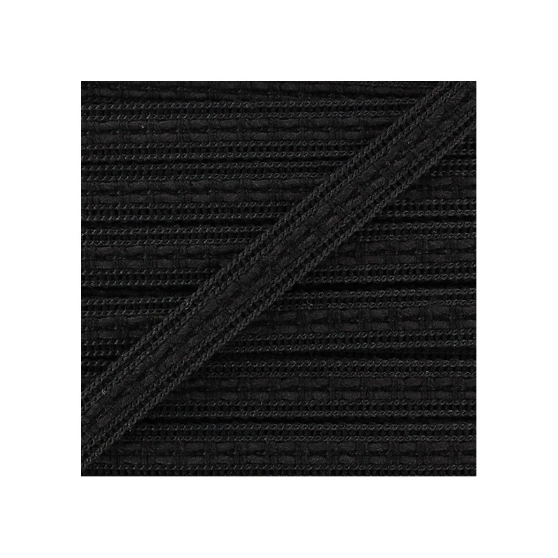 ruban galon passementerie 10 mm noir ma petite mercerie. Black Bedroom Furniture Sets. Home Design Ideas