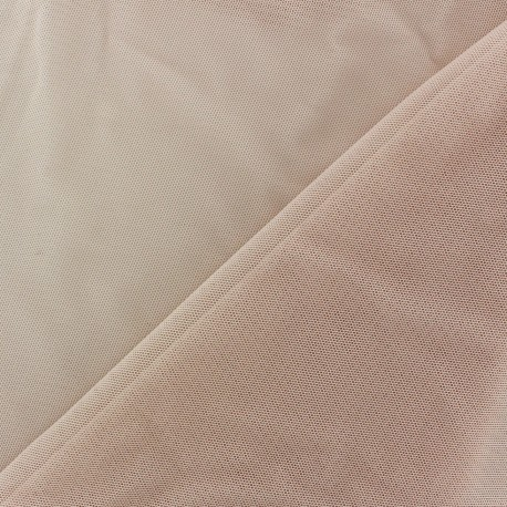 Soft tulle fabric - pink x10cm