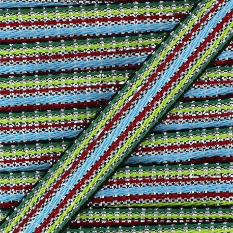 Lurex Ribbon, Happy - green