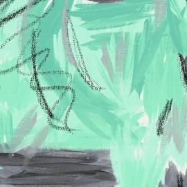 Tissu Sunshine - F Vert d'eau x 30,5 cm
