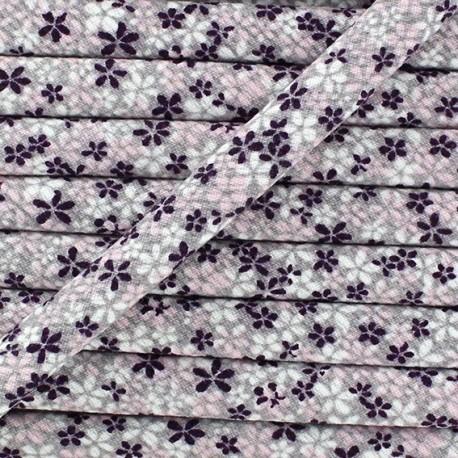 Cord, Little Flowers x 50cm - pink