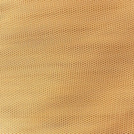 Tulle fabric Gold x 1m