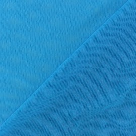 Soft tulle fabric - turquoise x10cm