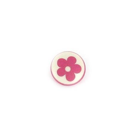 Polyester Button Alamandra - pink