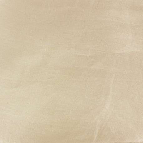 Normandie butter canvas fabric ? Natural x10cm