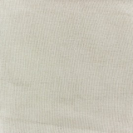 Wilmo stamen fabric (strip : 160cm) - Cream linen x 10cm