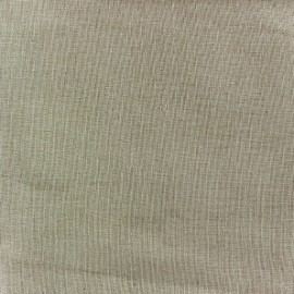 Tissu étamine Wilmo (laize : 160cm) lin ficelle x 10cm