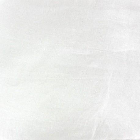 tissu oeko tex lin d lav grande largeur laize 280cm blanc x 10cm ma petite mercerie. Black Bedroom Furniture Sets. Home Design Ideas