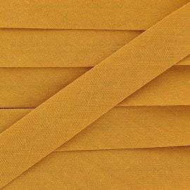 Biais Tout Textile vieil or 20 mm