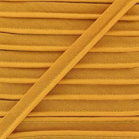 Passepoil tout textile vieil or