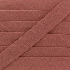 Multi-purpose-fabric Bias binding 20mm - old rose