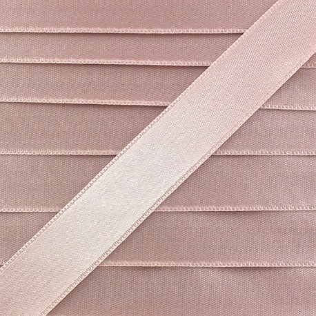 Satin Ribbon, double-sided - pastel pink