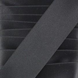 Satin ribbon - black