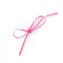 Ruban satin Comete 3mm rose bonbon