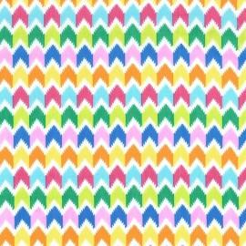 Tissu Emilia Multicolore x 10cm