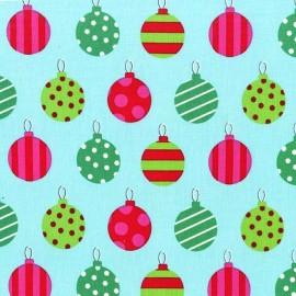 Tissu Hang the ornaments x 10cm