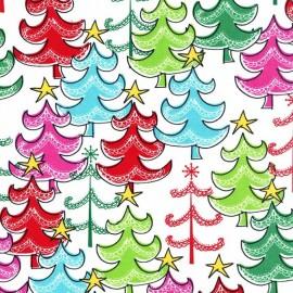 Tissu A star Atop multicolore x 38cm