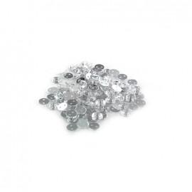 Strass rond à coudre India cristal (lot de 100)