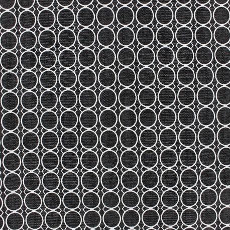 Tissu gabardine Circulo x 10cm