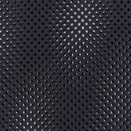 Circle Mesh fabric - navy blue x 10cm