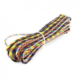 Paracord Rainbow 4 mm x 3m - multicolored