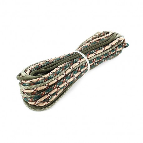 Paracord Fluo 4 mm x 3m - multicolored