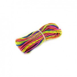 Paracord Fluo 2 mm x 3m - multicolored