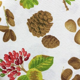Tissu toile Automn Forest x 10 cm