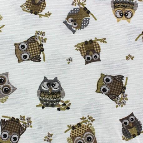 Canvas Fabric Búho x 10 cm