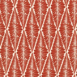 Tissu Collection Ashton Road C - rouge x 12cm