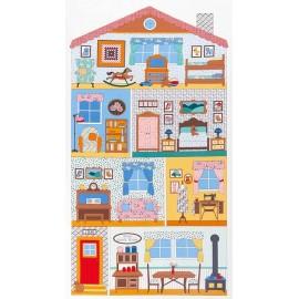 Tissu Penny's Dollhouse C x 61cm
