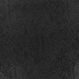 Tissu Suédine Girondine fond Noir x 10cm