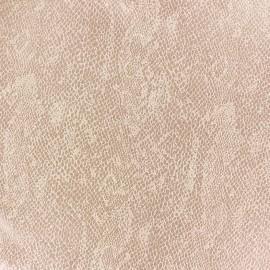 Suede Fabric Girondine flesh x 10cm