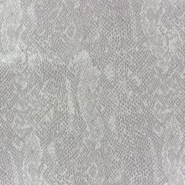 Suede Fabric Girondine greige x 10cm