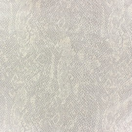 Suede Fabric Girondine ecru x 10cm