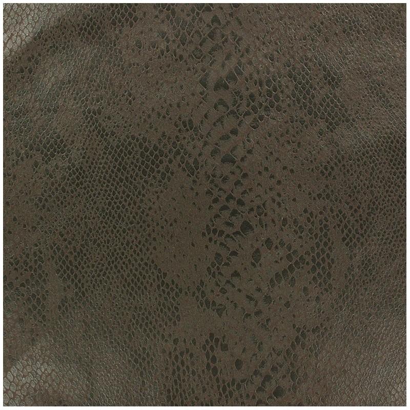Tissus pas cher tissu su dine python fond brun - Tissu suedine pas cher ...