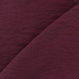 Tissu viscose pourpre x10cm