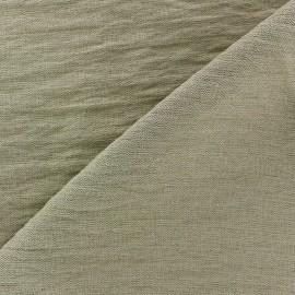 Crinkled Viscose Fabric - Sand x 10cm