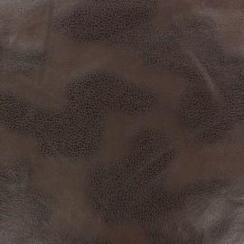 Tissu Suédine Austin chocolat x 10cm