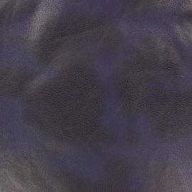 Tissu Suédine Austin bleu marine x 10cm