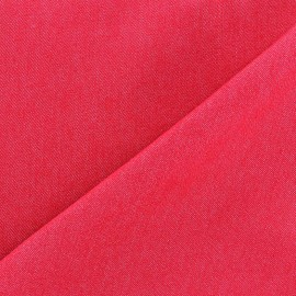 Jeans fabric 400gr/ml - raspberry x 10cm