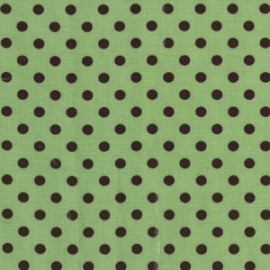 Fabric Dumb Dot Avocado x 10cm