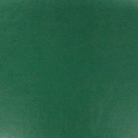 Imitation leather - imperial green x 10cm